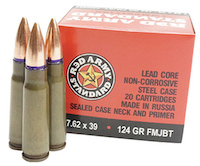 Red State Ammo 7.62 X 39mm